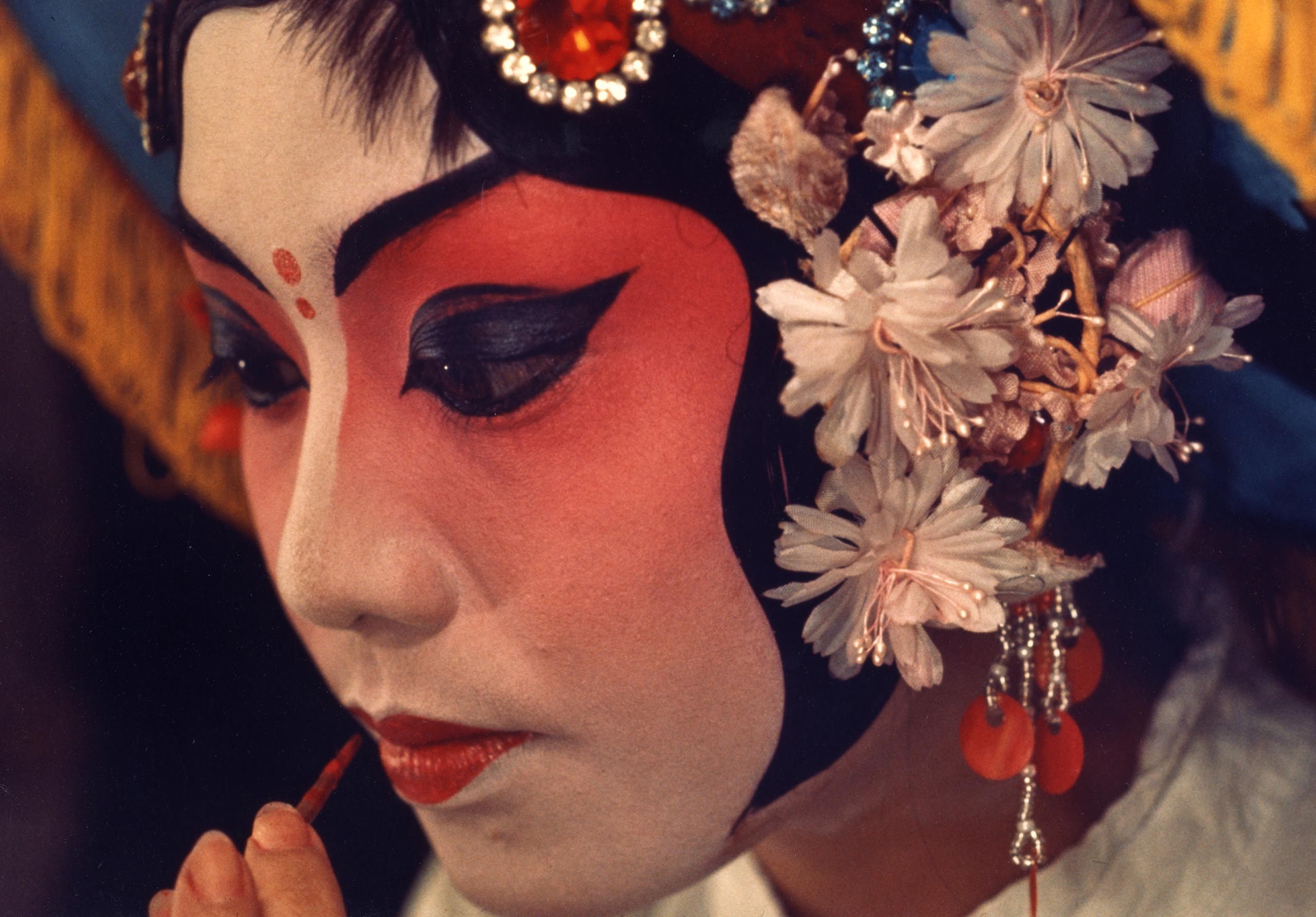 Red Face Paint Japanese History