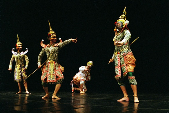 asian theatre and its theatrical activities such as skits pantomimes juggling singing and dancing in Asian theater typically combines storytelling makeup, scenery, costumes, props, and scripts in contrast to theater in the west singing, dancing, mime.