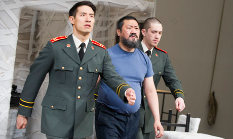 arrest ai weiwei play