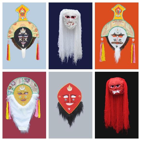 Lhamo Masks