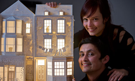 The 'Paper Architect' theatrical project by Davy and Kristin McGuire