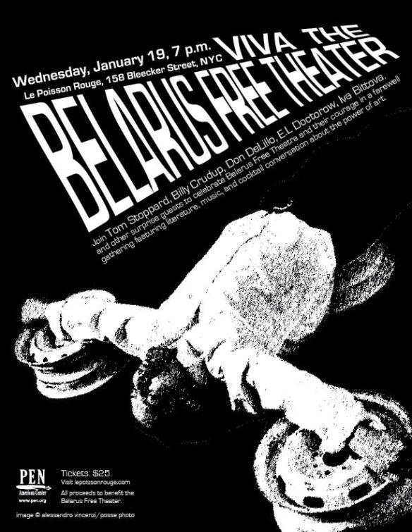 belarus free theatre flyer