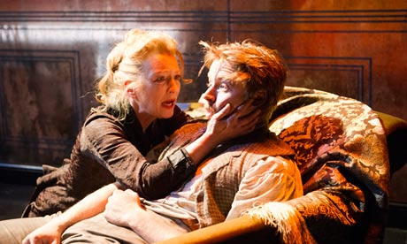 Lesley Manville in Richard Eyre's production of Ghosts