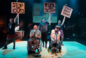 "Graeae Theatre Company. ""Reasons To Be Cheerful"""