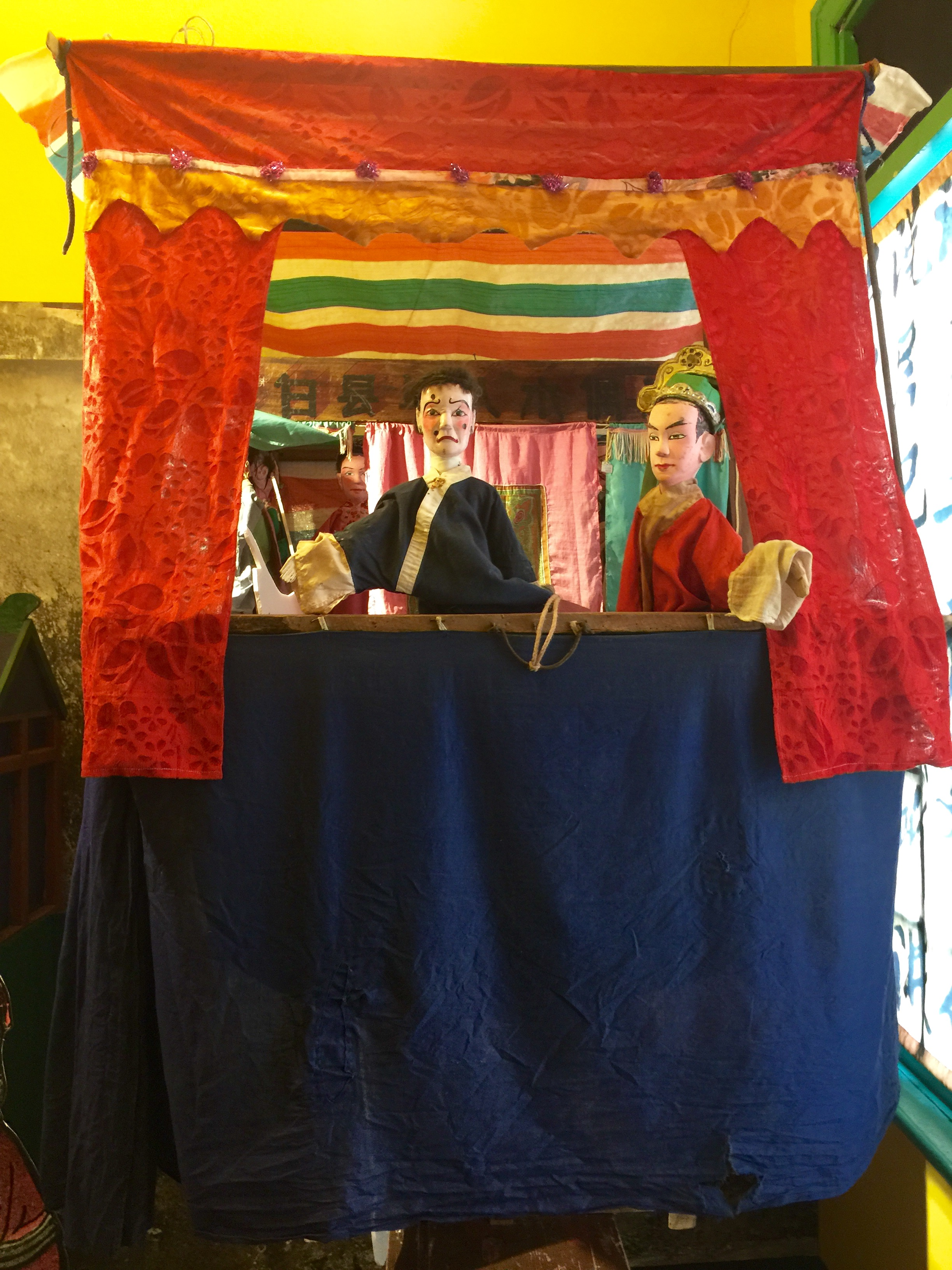 Uncle Martin Punch And Judy Photo